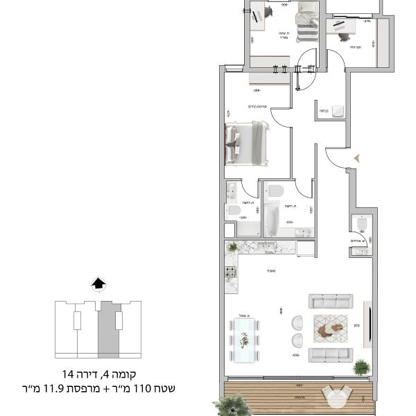 קומה 5 דירה 18